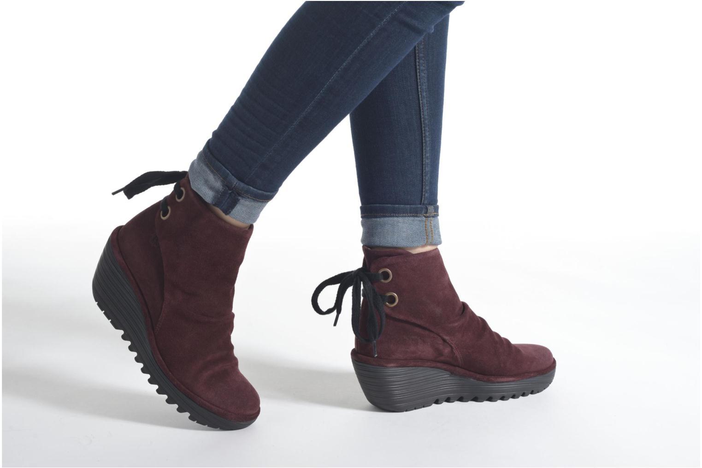Stiefeletten & Boots Fly London Yama beige ansicht von unten / tasche getragen