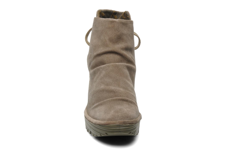 Stiefeletten & Boots Fly London Yama beige schuhe getragen