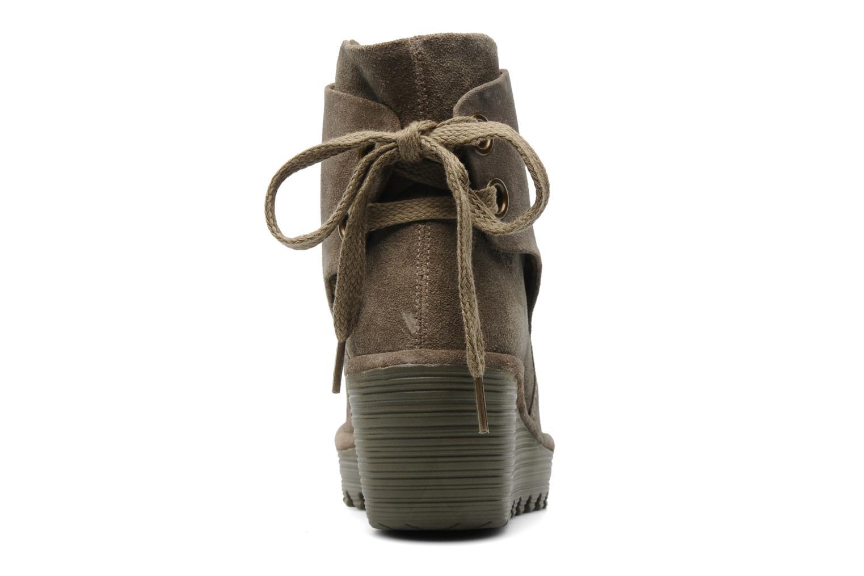 Stiefeletten & Boots Fly London Yama beige ansicht von rechts