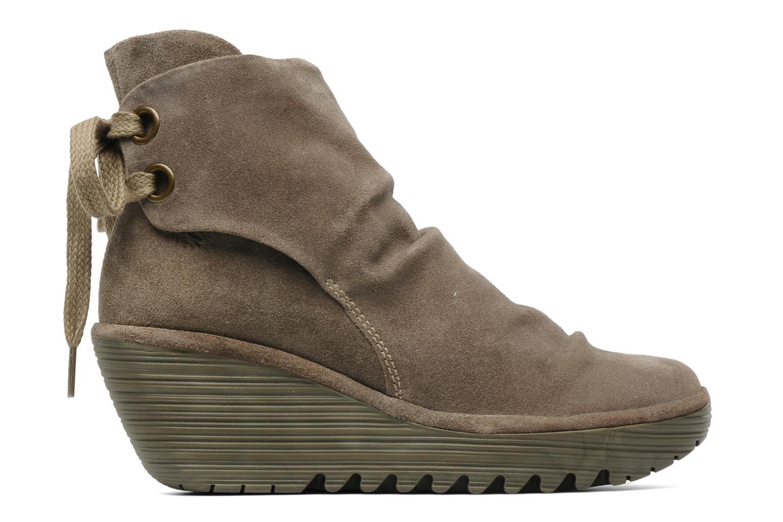 Stiefeletten & Boots Fly London Yama beige ansicht von hinten