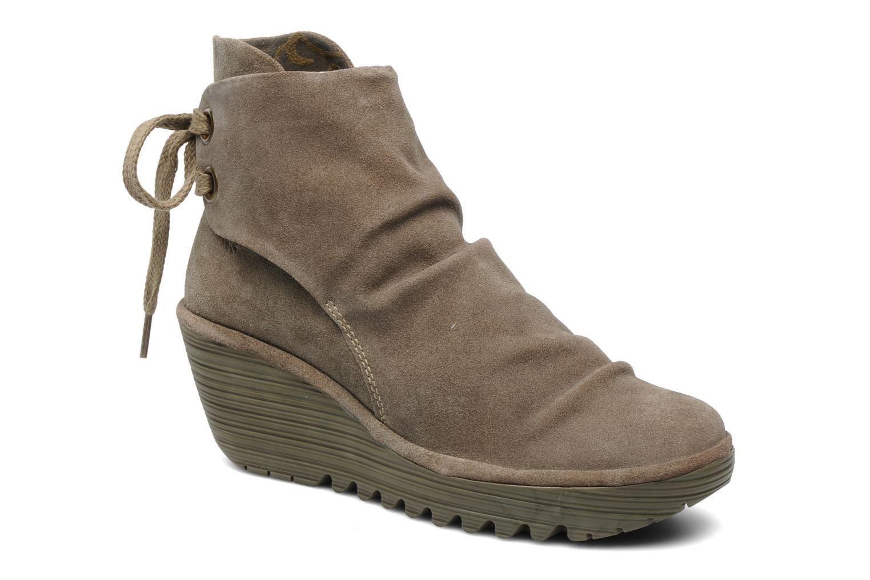 Stiefeletten & Boots Fly London Yama beige detaillierte ansicht/modell
