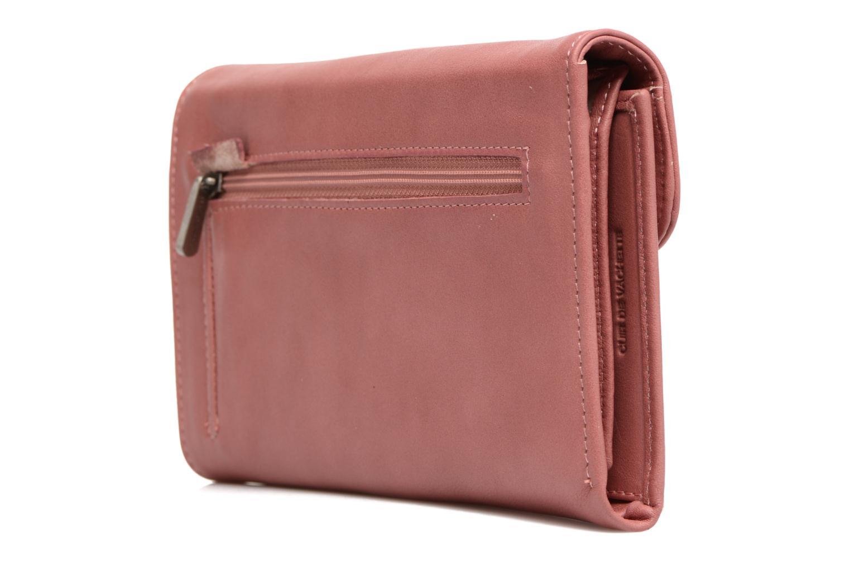 Portemonnaies & Clutches Sabrina Zoé rosa ansicht von rechts