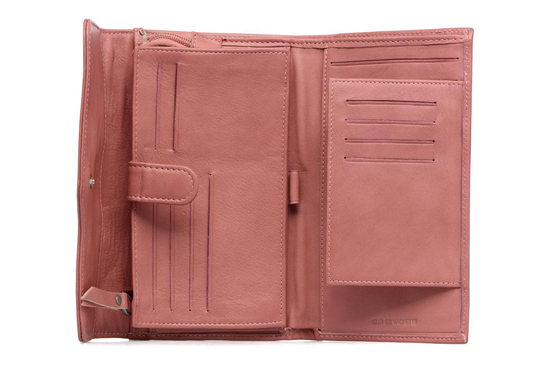Portemonnaies & Clutches Sabrina Zoé rosa ansicht von hinten