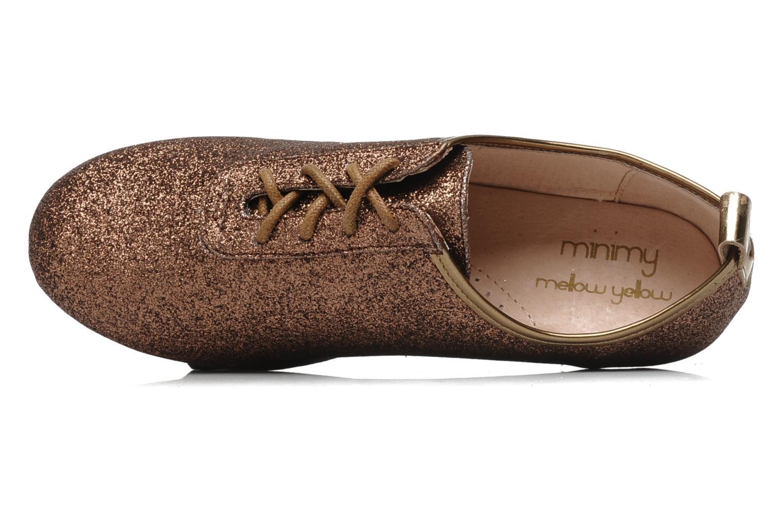 Zapatos con cordones Mellow Yellow Mini Moonwolk Oro y bronce vista lateral izquierda