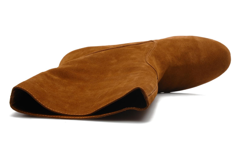 Bottines et boots Mellow Yellow Miki Marron vue gauche