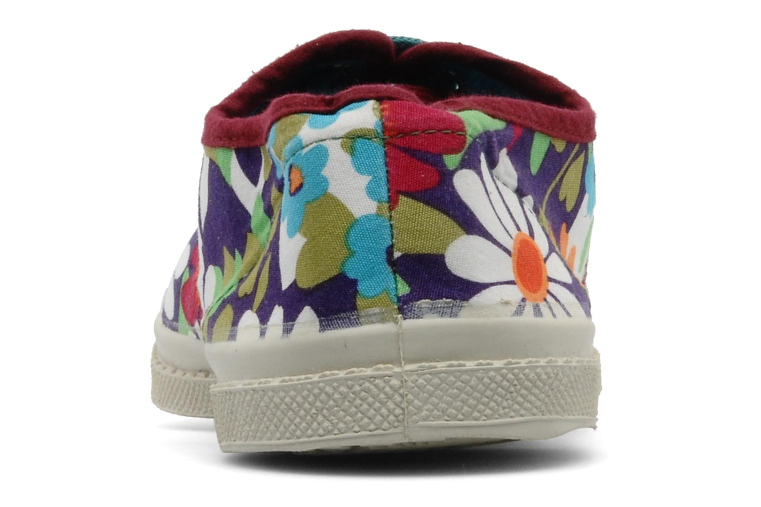Sneakers Bensimon Tennis Fleurs Exclu Multicolore immagine destra