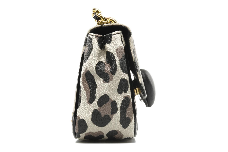 Handtaschen Moschino Cheap & Chic Maculato PVC Borsa Tracolla mehrfarbig ansicht von rechts