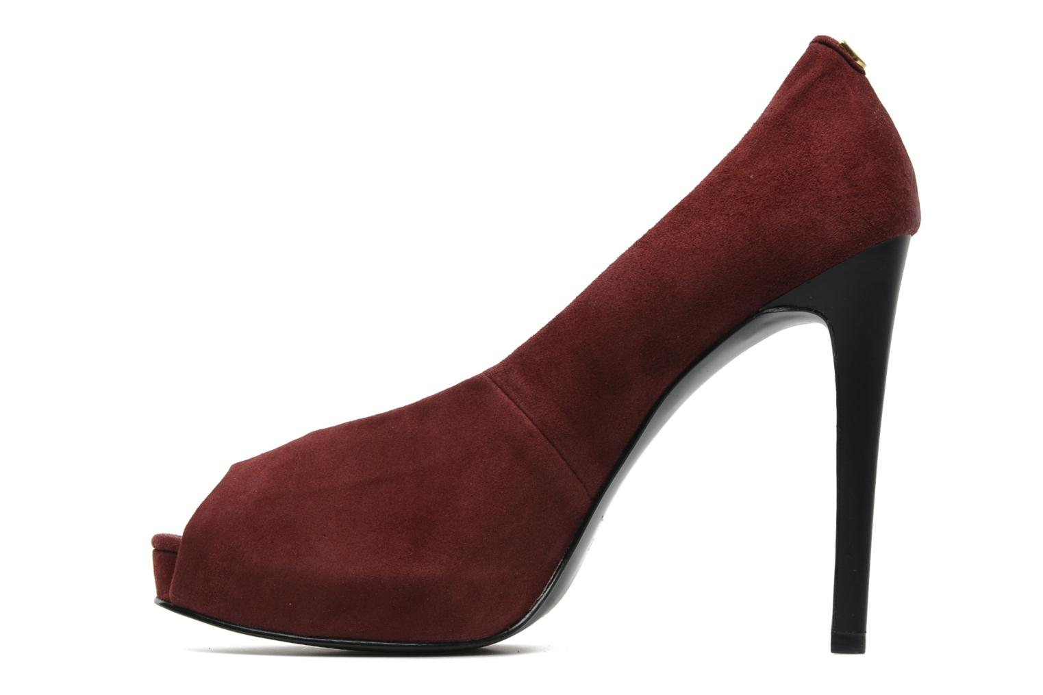 High heels Guess Hytner Burgundy front view