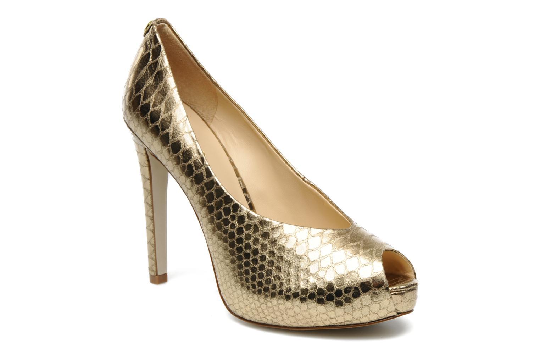 Zapatos de tacón Guess Hytner2 Oro y bronce vista de detalle / par
