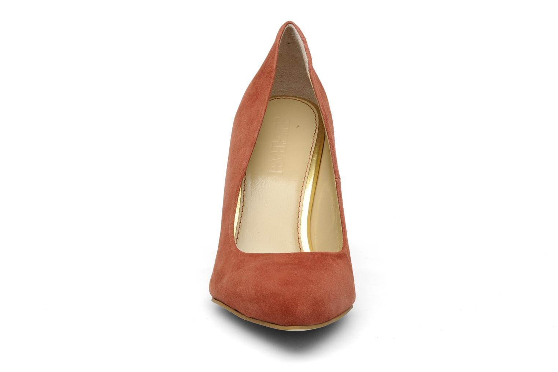 Escarpins Supertrash PUMP LOW HL Marron vue portées chaussures