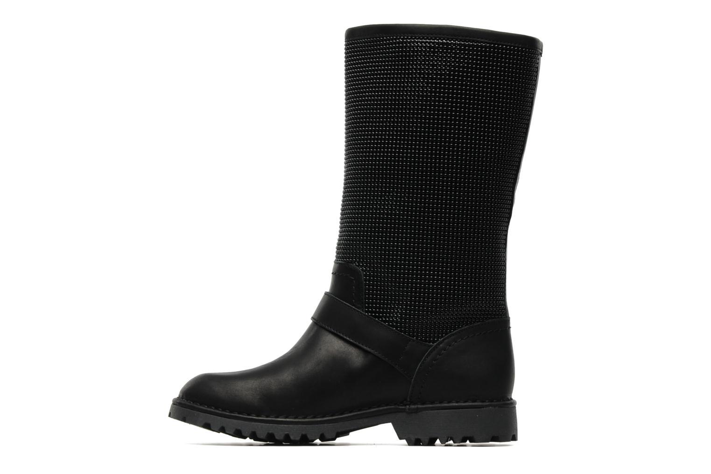 Bottines et boots Supertrash GUNMETAL BOOT Noir vue face