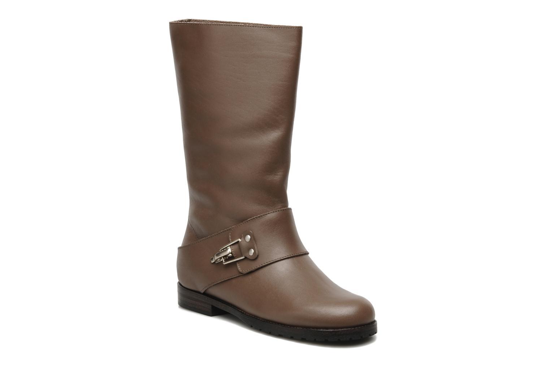 Stiefeletten & Boots See by Chloé Buck braun detaillierte ansicht/modell
