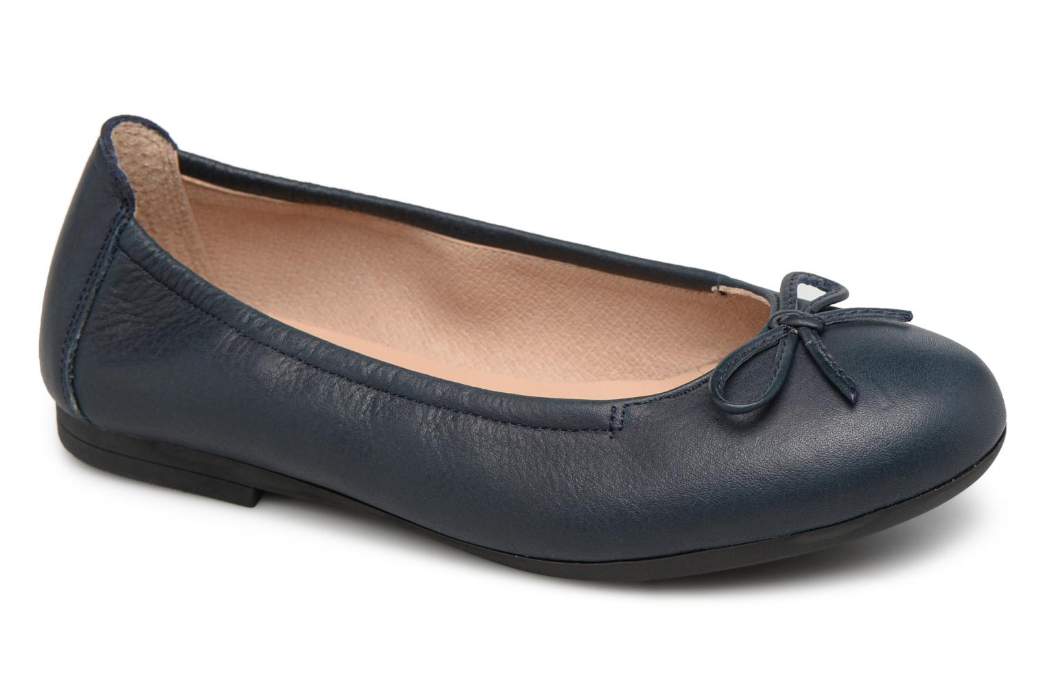 Ballet pumps Unisa Cresy Blue detailed view/ Pair view