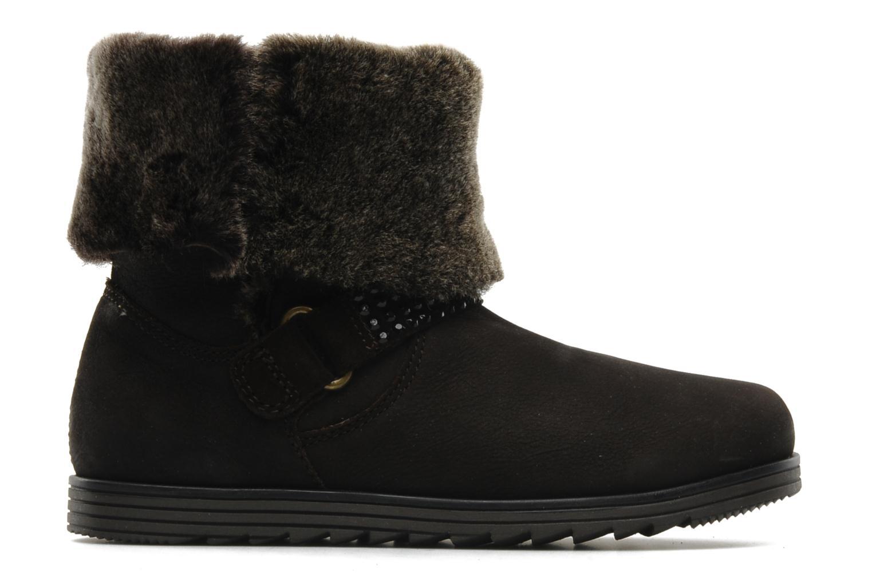 Boots en enkellaarsjes Unisa Ecco Bruin achterkant