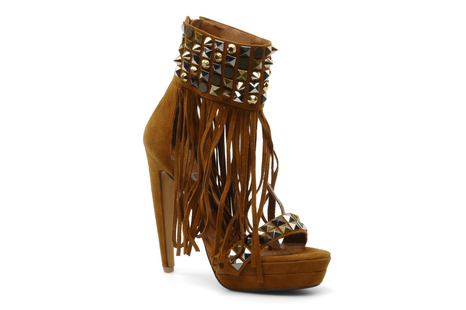 Marques Chaussure femme Jeffrey Campbell femme JC-35 Tan Suede
