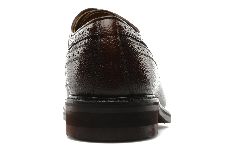 Chaussures à lacets Finsbury Barton Marron vue droite