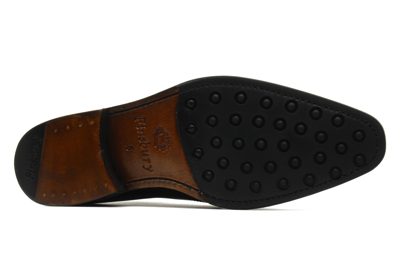 Chaussures à lacets Finsbury Chukka Noir vue haut