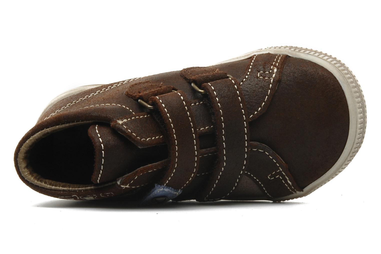 Chaussures à scratch Bopy Belivel Marron vue gauche