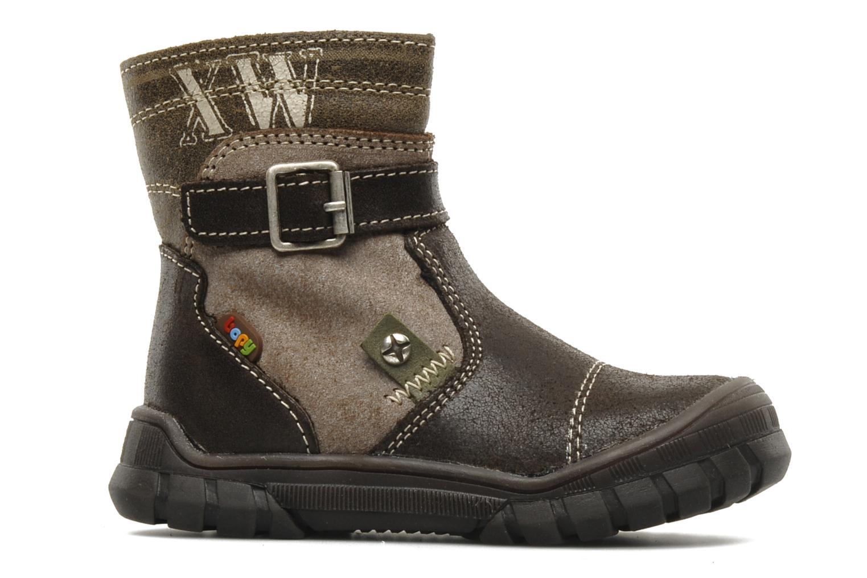 Boots en enkellaarsjes Bopy Bocari Bruin achterkant