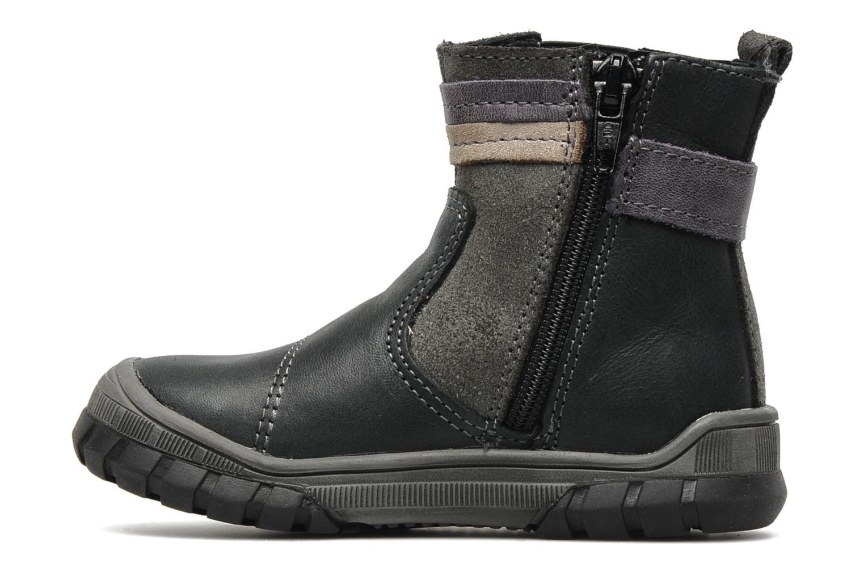 Boots en enkellaarsjes Bopy Borg Grijs voorkant