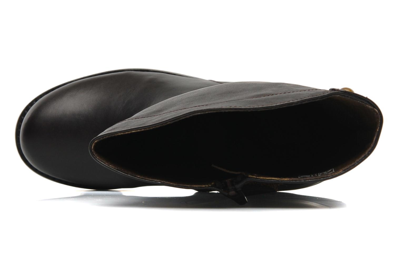 Stiefel Bopy Hafto braun ansicht von links