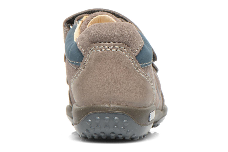Chaussures à scratch Primigi Albin Gris vue droite