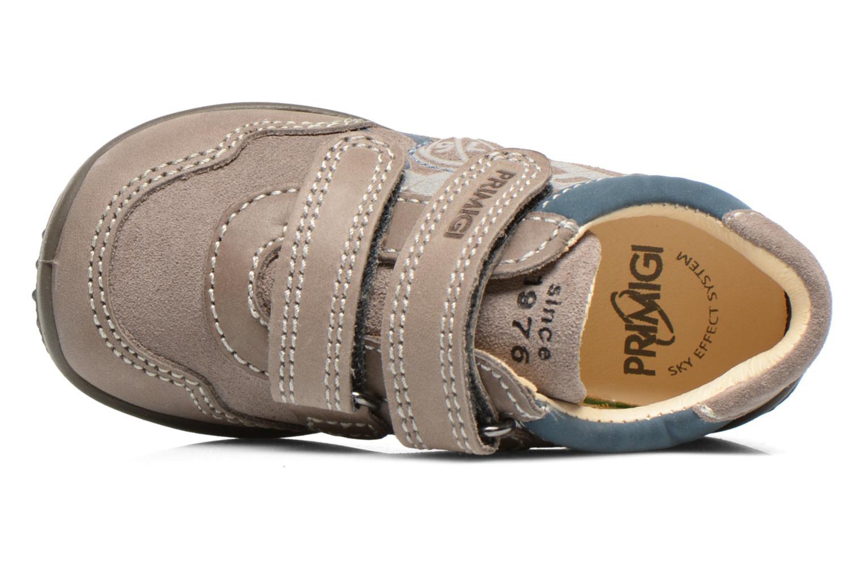 Chaussures à scratch Primigi Albin Gris vue gauche