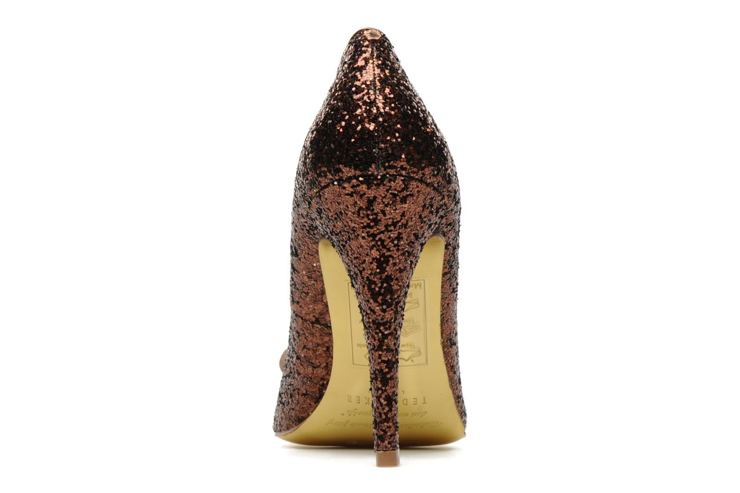 High heels Ted Baker MAYTER Bronze and Gold view from the right