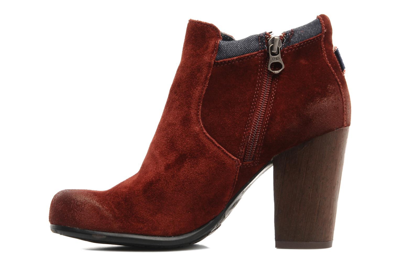Stiefeletten & Boots Tommy Hilfiger JADE 4 B rot ansicht von vorne