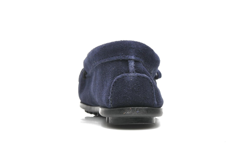 Loafers Minnetonka KILTY SUEDE MOC Blå Se fra højre