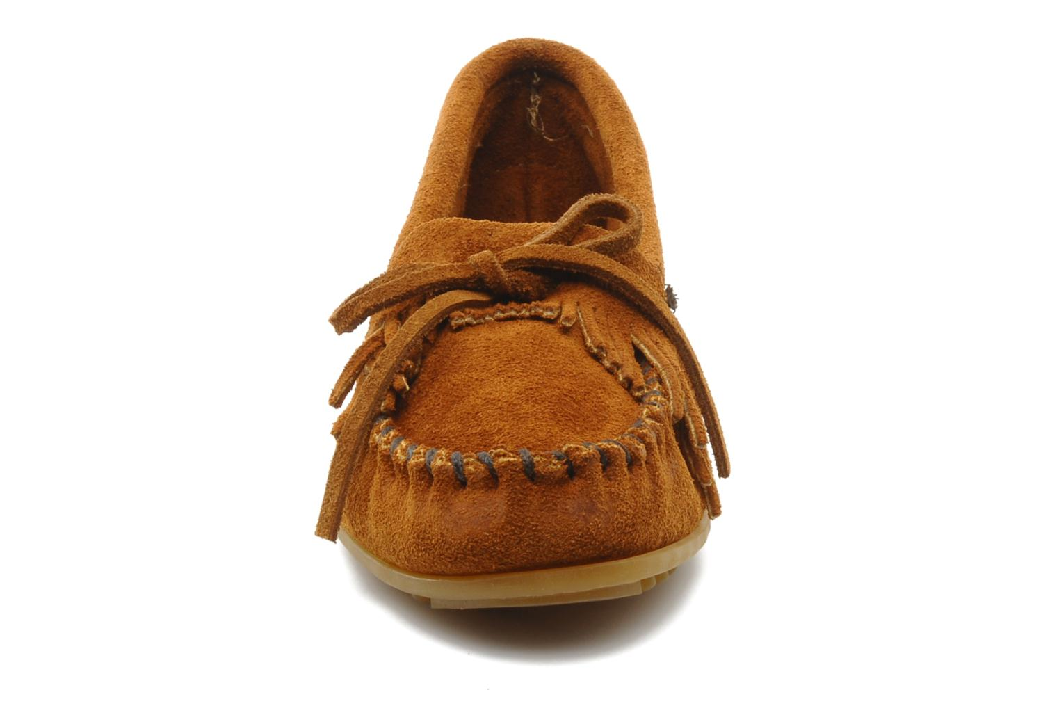 KILTY SUEDE MOC Brown Suede