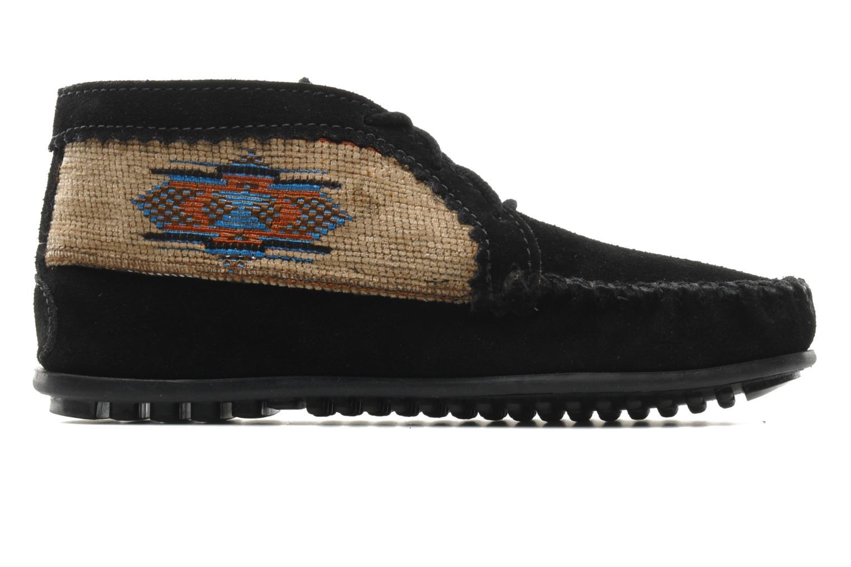 Bottines et boots Minnetonka EL PASO ANKLE BOOT Noir vue derrière