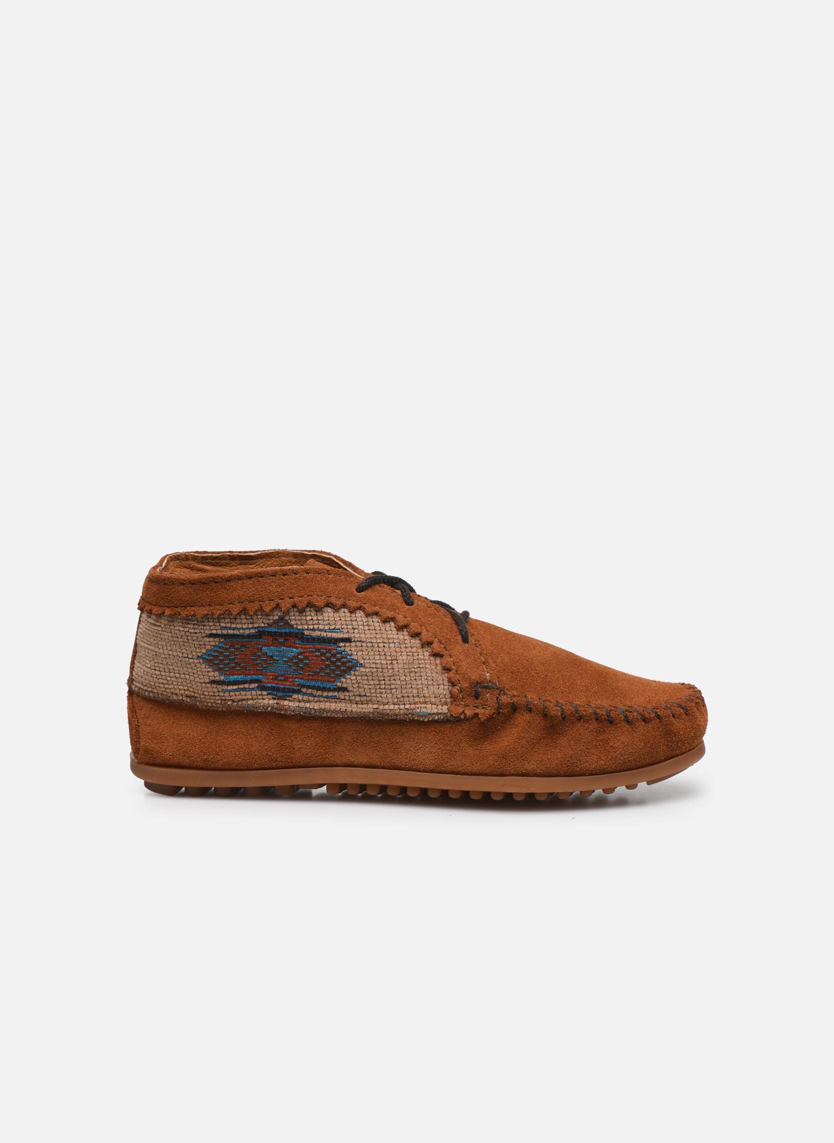 Boots en enkellaarsjes Minnetonka EL PASO ANKLE BOOT Bruin achterkant
