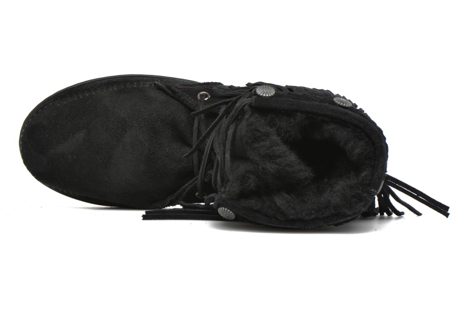 SHEEPSKIN TRAMPER BLACK SHEEPSKIN