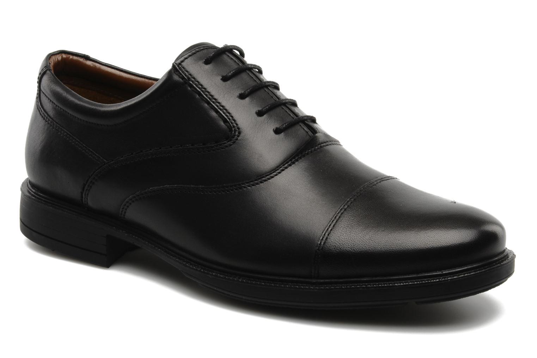 Chaussures à lacets Hush Puppies Rockford 3 Noir vue détail/paire