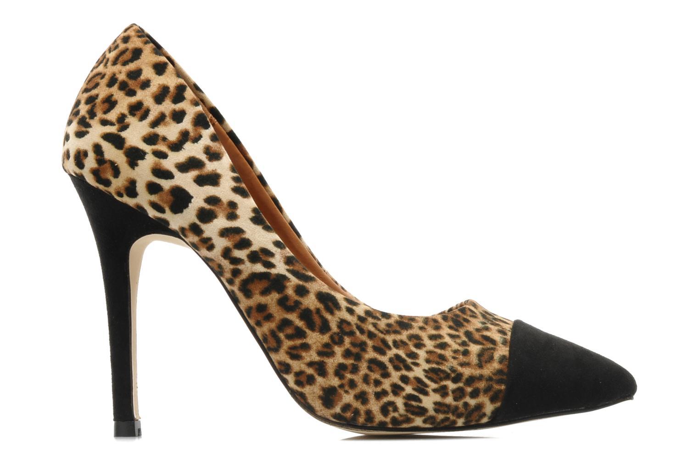 Nermina LEOPARD MICRO WITH BLACK TOE/HEEL