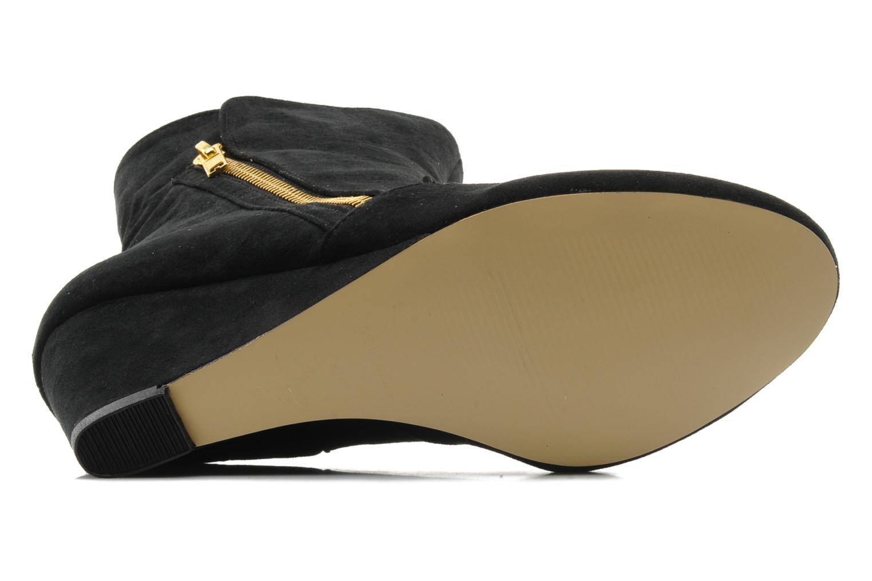 Bottines et boots I Love Shoes Norris Noir vue haut