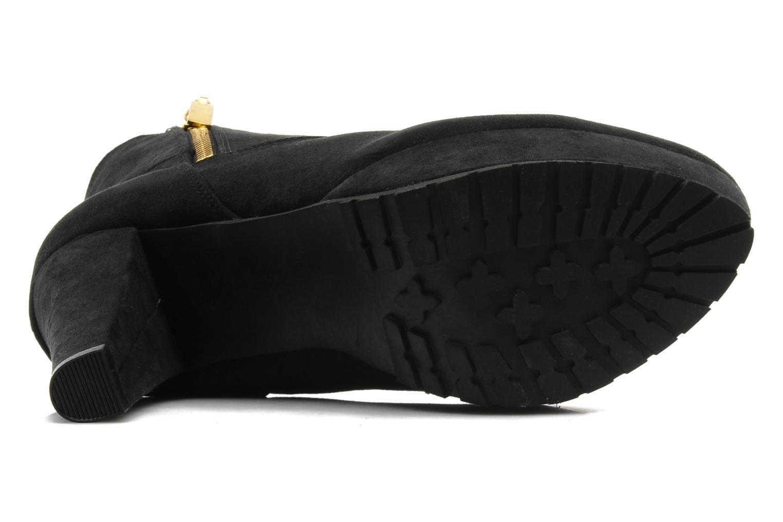 Bottines et boots I Love Shoes Napoli Noir vue haut
