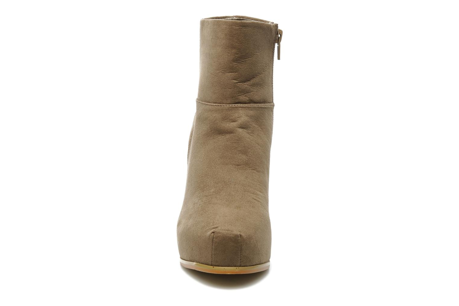 Boots en enkellaarsjes I Love Shoes Net Beige model