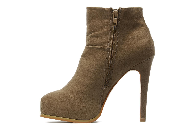 Boots en enkellaarsjes I Love Shoes Net Beige voorkant