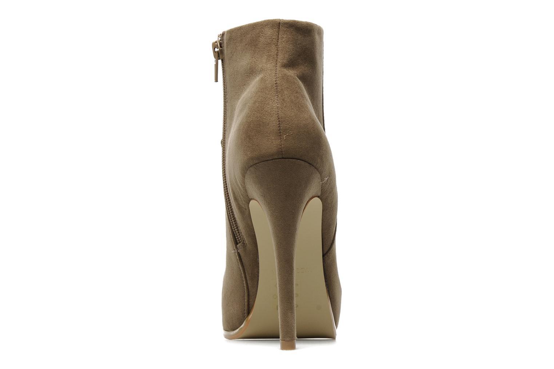 Boots en enkellaarsjes I Love Shoes Net Beige rechts