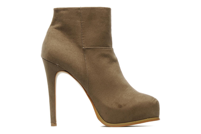 Boots en enkellaarsjes I Love Shoes Net Beige achterkant