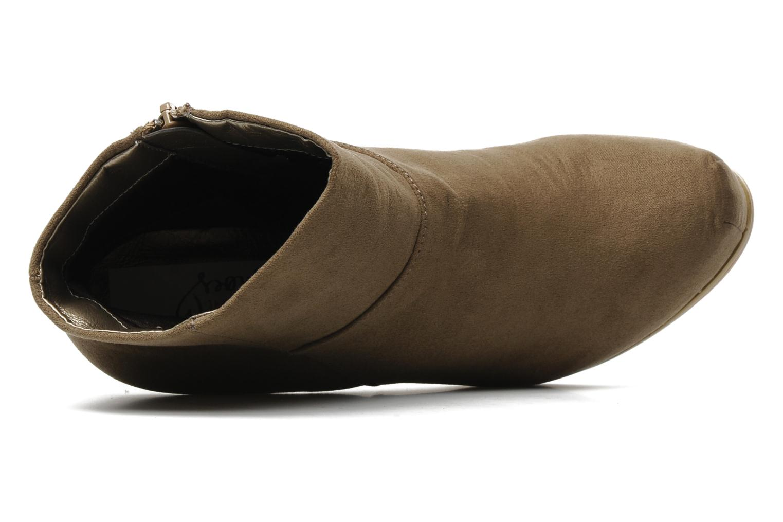 Stiefeletten & Boots I Love Shoes Net beige ansicht von links