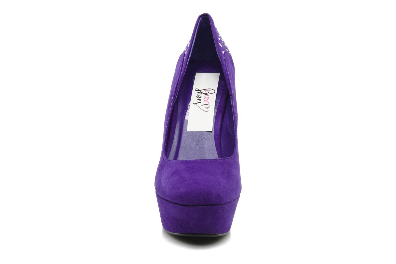 Escarpins I Love Shoes Nydo Violet vue portées chaussures