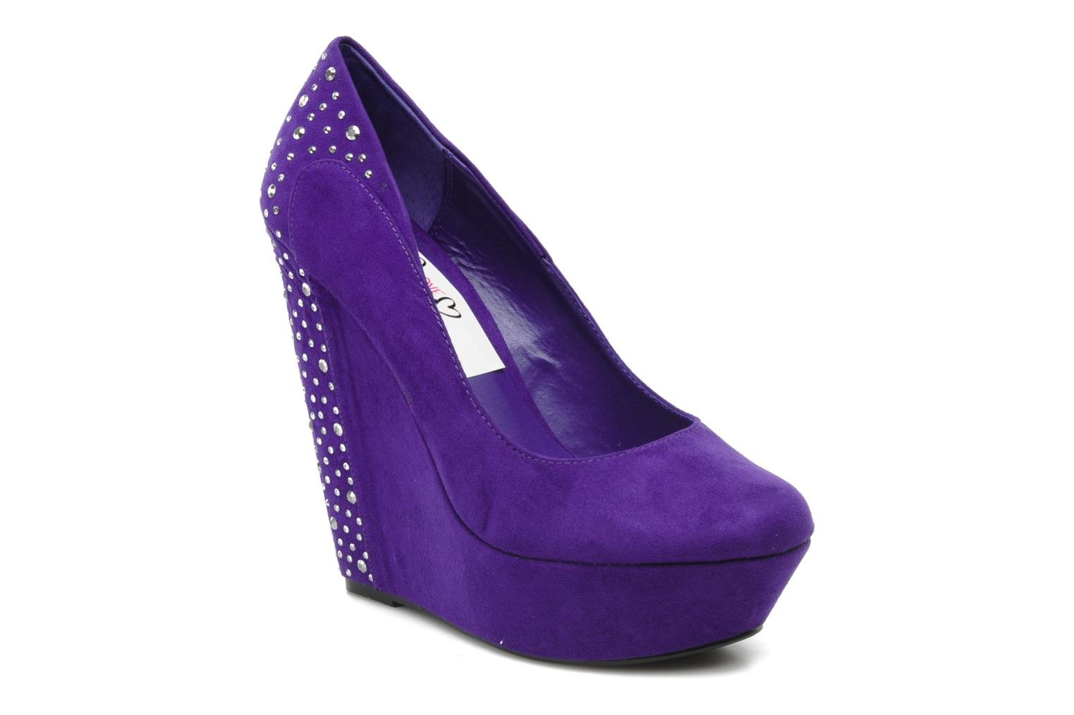 Pumps I Love Shoes Nydo Paars detail