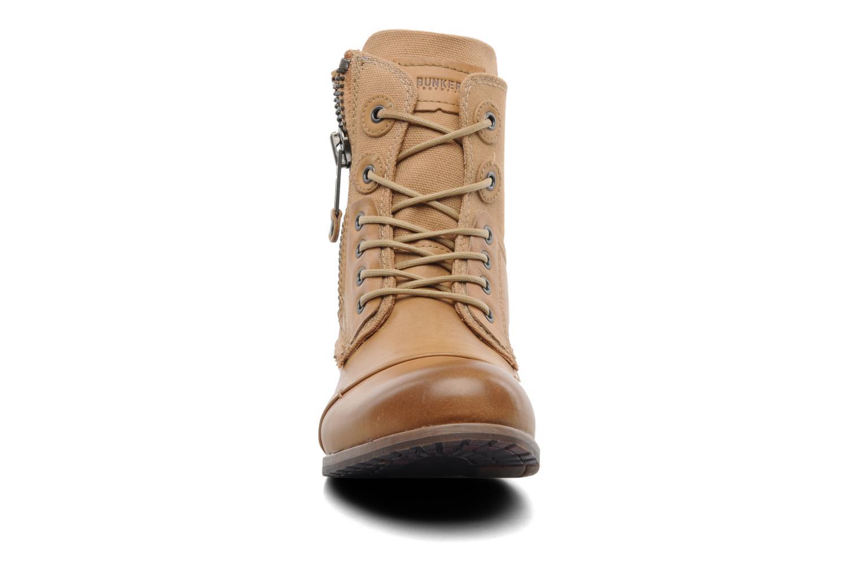 Boots en enkellaarsjes Bunker Sara zip Bruin model