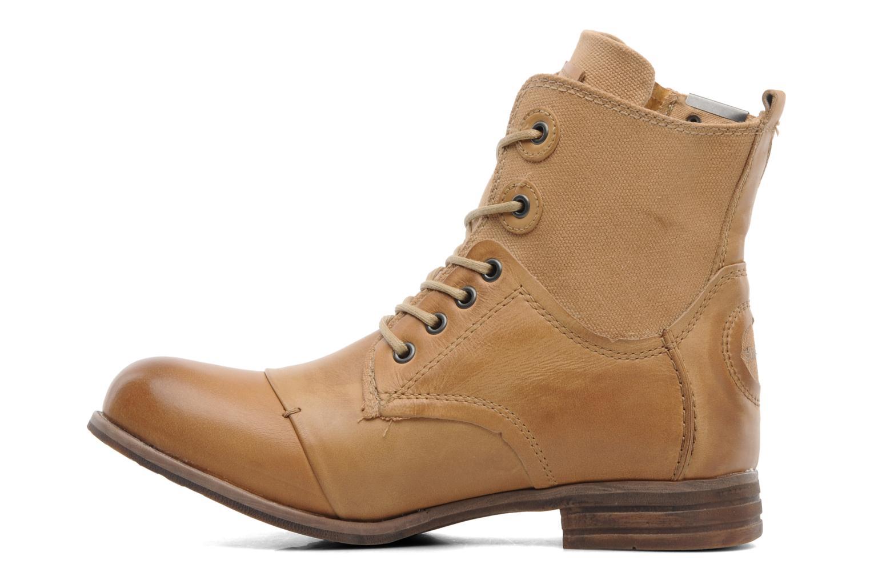 Boots en enkellaarsjes Bunker Sara zip Bruin voorkant