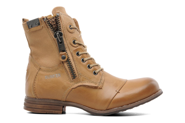Boots en enkellaarsjes Bunker Sara zip Bruin achterkant