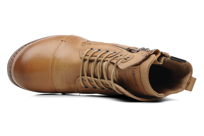 Boots en enkellaarsjes Bunker Sara zip Bruin links