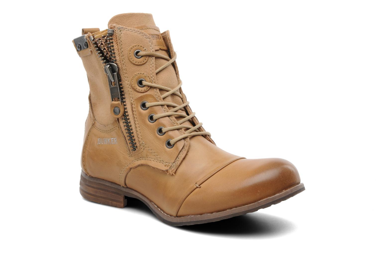 Boots en enkellaarsjes Bunker Sara zip Bruin detail
